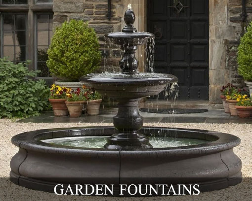 Garden Fountains Superstore Highest Quality Water Fountains Pump Included Premium Outdoor Decor